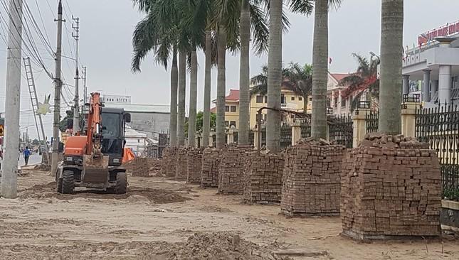 Huyện Đông Hưng, Thái Bình: Cả huyện tự tháo dỡ công trình lấn chiếm vỉa hè - ảnh 1