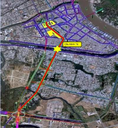 TP HCM muốn mở đường hơn 5.400 tỷ - nối quận 4 và 7  - ảnh 1