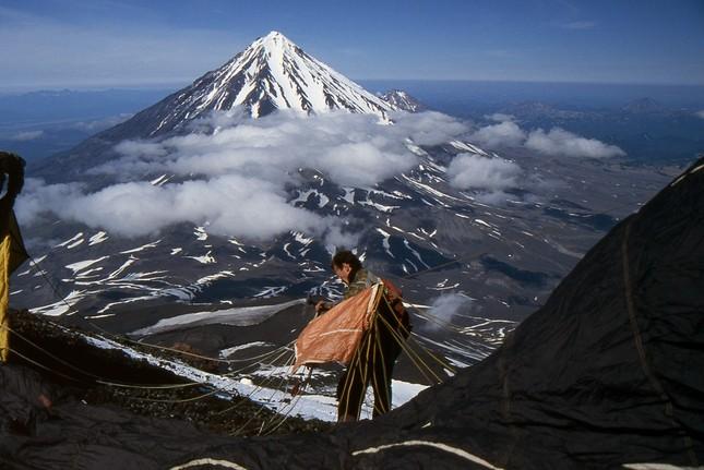 Núi lửa ở Kamchatka - ảnh 1