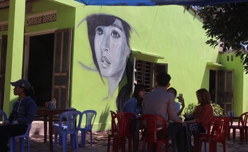 Quảng Nam: 4 bức bích họa làng Tam Thanh bị phá dỡ  - ảnh 1
