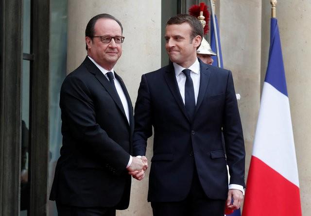 21 phát đại bác cho lễ nhậm chức của Tổng thống trẻ nhất lịch sử Pháp - ảnh 1