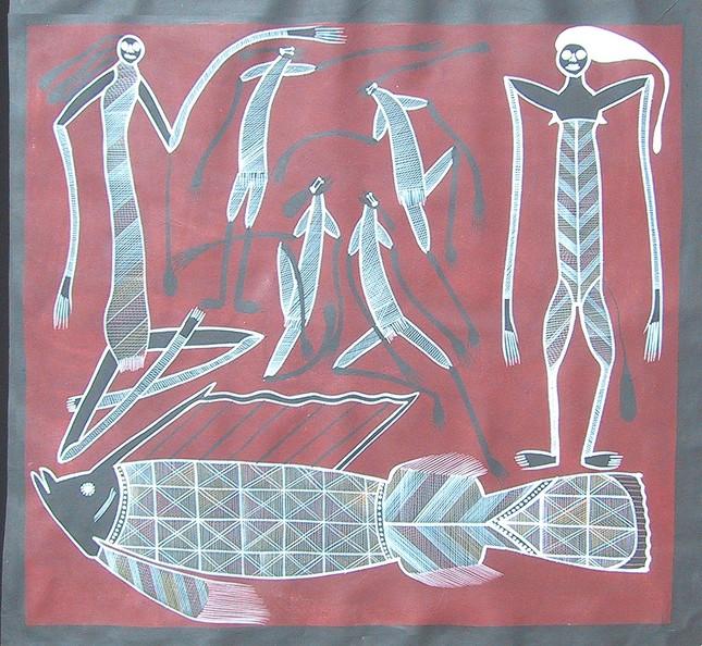 Đưa nghệ thuật thổ dân Australia trở lại với thế giới - ảnh 2