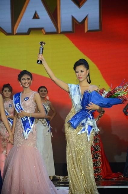 Yến Nhi giành ngôi Á hậu tại Hoa hậu hữu nghị ASEAN 2017 - ảnh 2