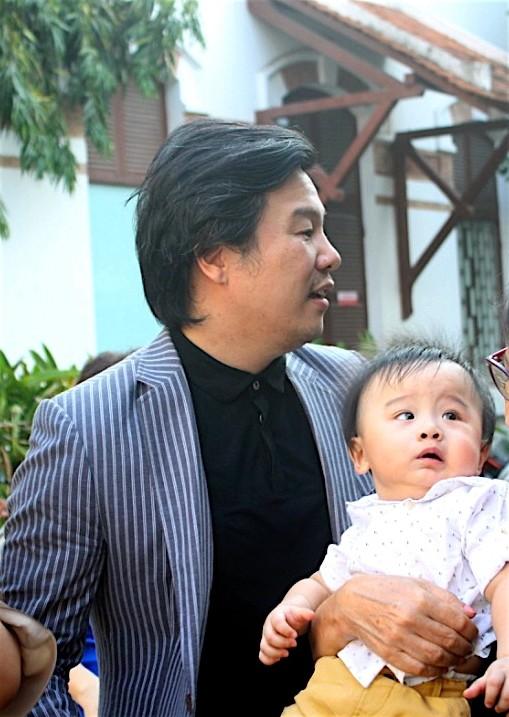Cặp song sinh của Thanh Bùi lần đầu lộ diện trước công chúng  - ảnh 3