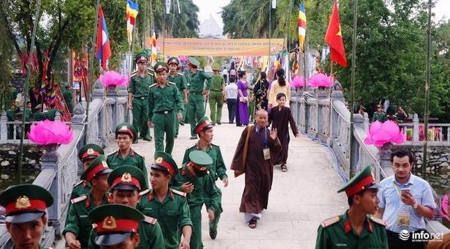 Xúc động Đại lễ cầu siêu các anh hùng, liệt sỹ tại Nghĩa trang Quốc tế Việt Lào - ảnh 4