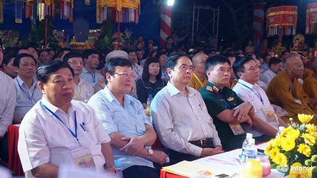 Xúc động Đại lễ cầu siêu các anh hùng, liệt sỹ tại Nghĩa trang Quốc tế Việt Lào - ảnh 1