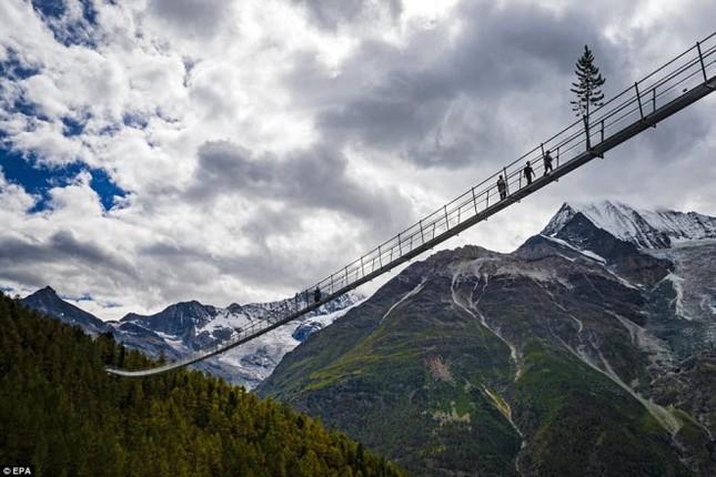 Cầu treo đi bộ dài nhất thế giới mở của đón du khách - ảnh 7