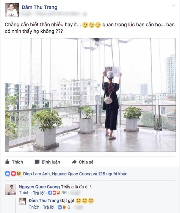 """Cường Đô la công khai """"người mới"""" là Đàm Thu Trang - ảnh 1"""