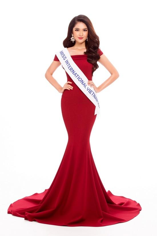 Á hậu Thuỳ Dung đại diện Việt Nam tham dự Miss International 2017 - ảnh 1