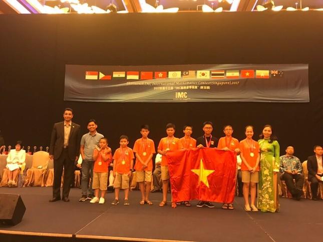 """Học sinh Việt Nam hái """"quả ngọt"""" từ cuộc thi Toán quốc tế IMC - ảnh 4"""