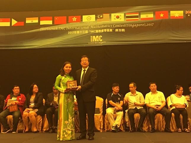 """Học sinh Việt Nam hái """"quả ngọt"""" từ cuộc thi Toán quốc tế IMC - ảnh 1"""