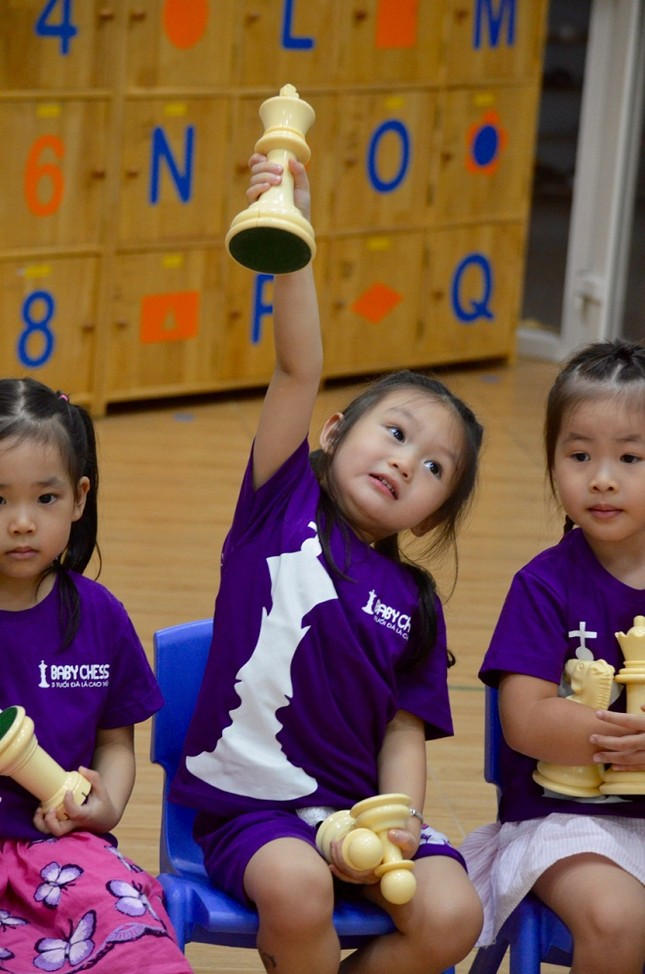Bí quyết làm nên sự đột phá khi dạy cờ vua cho trẻ 3 tuổi - ảnh 1