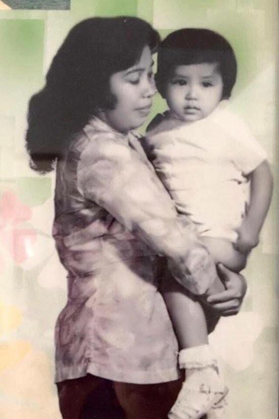 Tuổi thơ cực khổ bên người mẹ nghèo của diễn viên Việt Trinh - ảnh 2