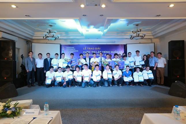 10 thí sinh Việt sang Hàn Quốc thi lập trình quốc tế Samsung  - ảnh 2