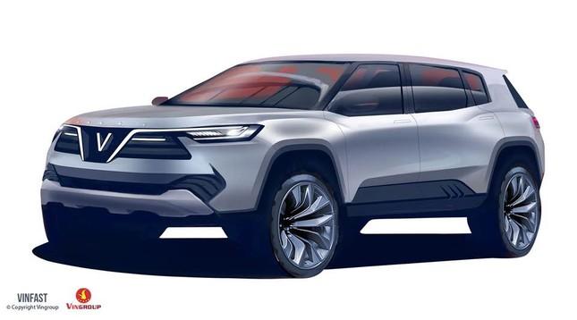 VINFAST công bố 20 mẫu thiết kế cho dòng xe Sedan và SUV - ảnh 1