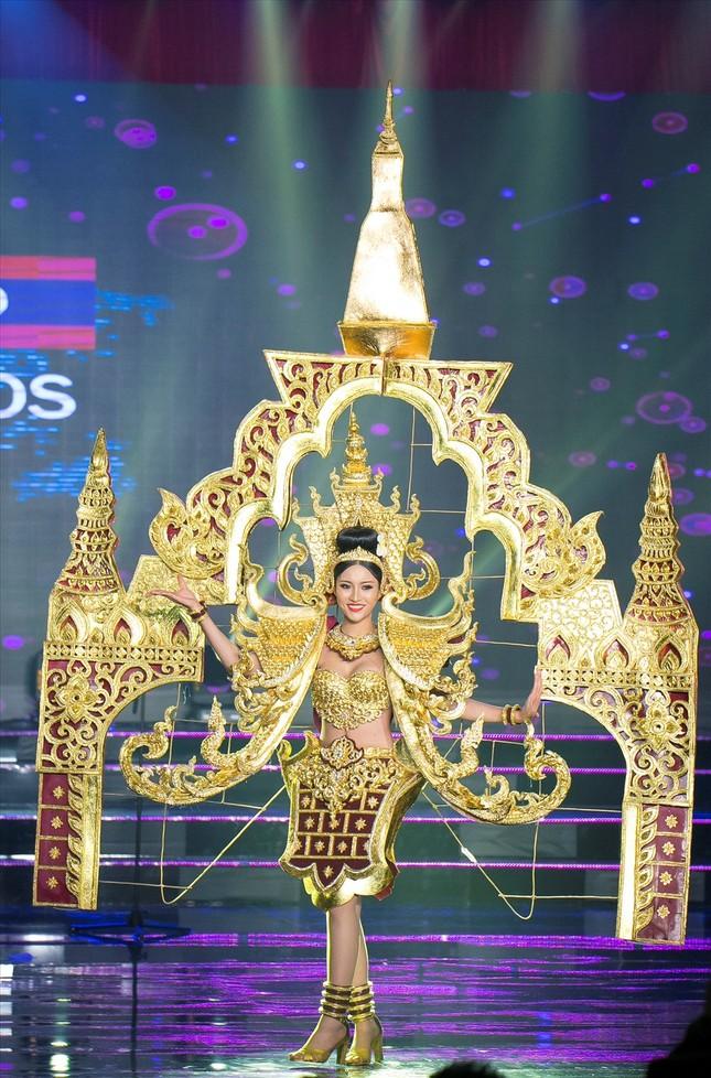 Huyền My lộng lẫy trong vòng thi đầu tiên Hoa hậu Hòa bình Thế giới - ảnh 5