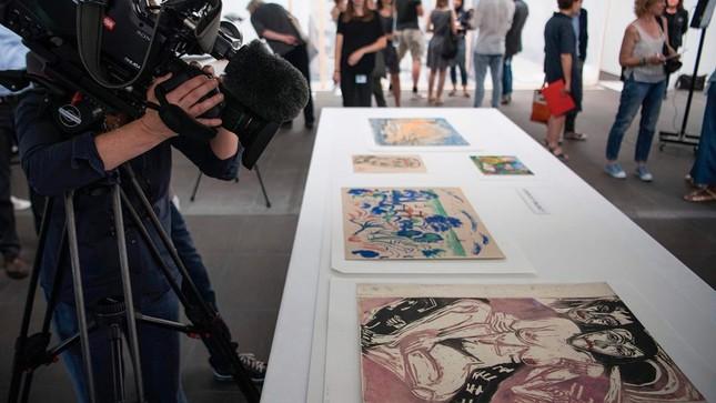 """Bộ sưu tập nghệ thuật """"không thể ước tính giá trị"""" của Đức quốc xã - ảnh 1"""