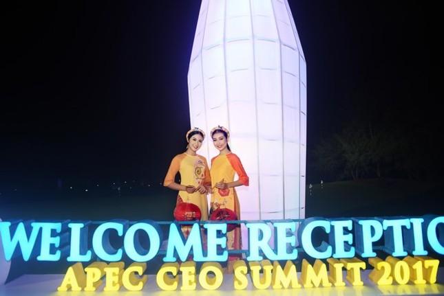 Ngọc Hân cùng dàn người đẹp diễn áo dài tại tiệc chào mừng APEC - ảnh 6