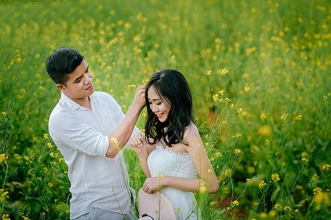 Mải mê 'sống ảo' với thảm hoa cải vàng đẹp mê hồn ở Sun World Fansipan Legend - ảnh 4