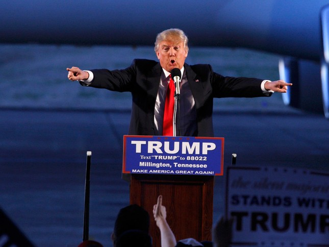 Lãnh đạo Việt Nam gửi điện mừng ông Donald Trump - ảnh 1