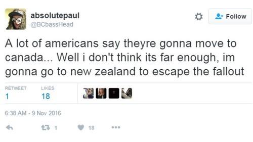 Website nhập cư New Zealand quá tải sau bầu cử Mỹ - ảnh 2