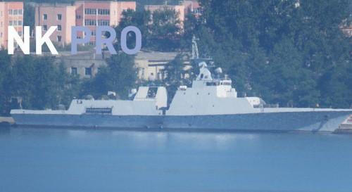 Tàu chiến tàng hình tối tân Triều Tiên lộ diện - ảnh 1