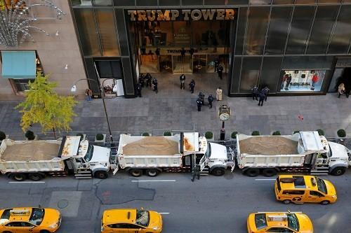 Thách thức an ninh bảo vệ tổng thống đắc cử tại Tháp Trump - ảnh 2