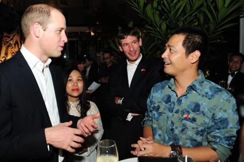 Hồng Nhung, Phan Anh ấn tượng với sự chân tình của Hoàng tử William  - ảnh 2