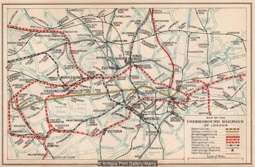 Bí mật đáng sợ bên dưới hệ thống tàu điện ngầm London - ảnh 1