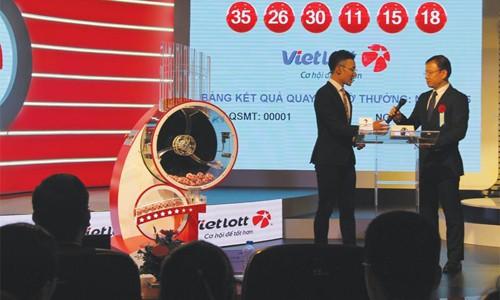 Doanh thu của Vietlott gấp gần 5 lần sau hơn một tháng - ảnh 1