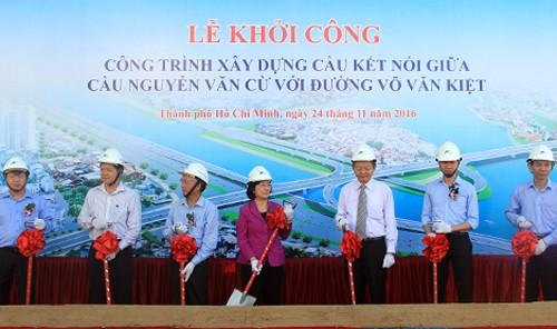 Nối cầu Nguyễn Văn Cừ với đại lộ hiện đại nhất TP HCM  - ảnh 1