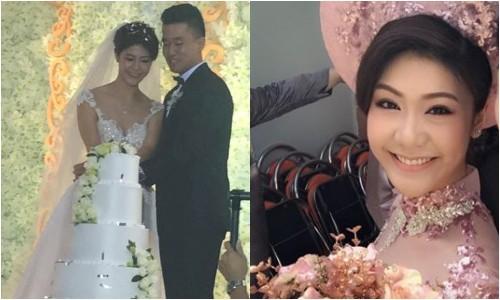 Cơ trưởng 8X - bạn gái cũ Trương Thế Vinh - làm đám cưới  - ảnh 1