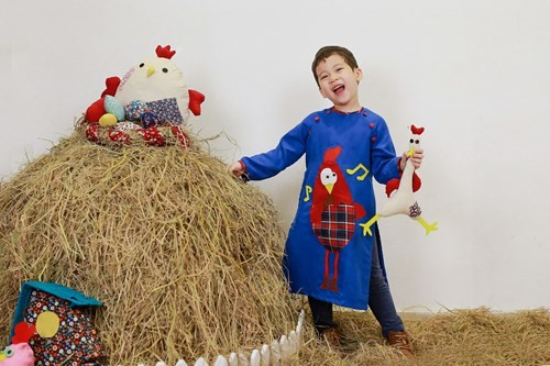 BST áo dài con gà dành riêng cho bé năm Đinh Dậu - ảnh 8