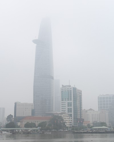Sài Gòn mù mịt sương  - ảnh 1