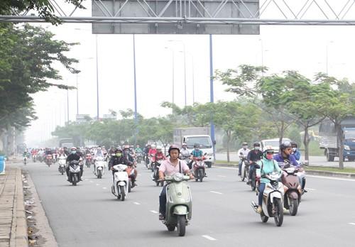 Sài Gòn mù mịt sương  - ảnh 2