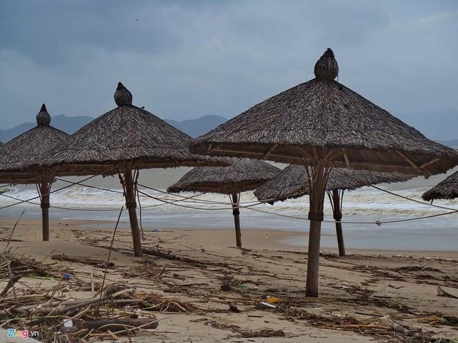 Bãi biển đẹp nhất thế giới xác xơ sau lũ - ảnh 9