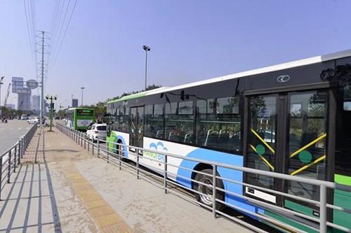 Chạy thử giờ cao điểm, buýt nhanh bằng thời gian buýt thường - ảnh 1