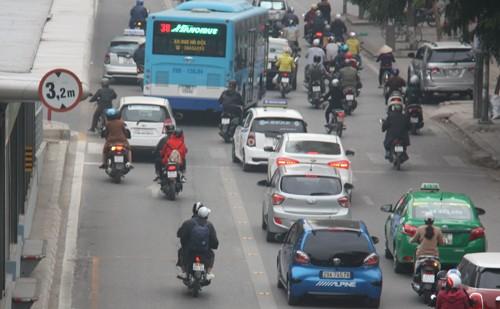 Hà Nội sẽ mở thêm tuyến buýt nhanh Kim Mã - Hòa Lạc - ảnh 1