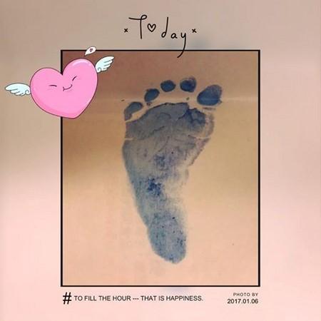 Lâm Tâm Như vừa sinh con gái sau 5 tháng kết hôn - ảnh 1