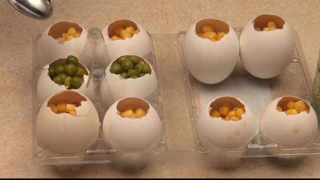 Cách làm món thịt đông trong vỏ trứng gà cực bắt mắt đón tết - ảnh 11