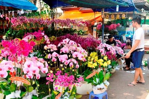 Đường phố Sài Gòn ngập hoa, nhộn nhịp không khí Tết - ảnh 5