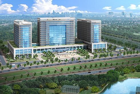 Trụ sở nhiều bộ ngành sẽ được xây dựng trên khu đất 55 ha - ảnh 1