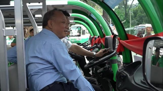 TP.HCM mở 4 tuyến xe buýt điện không trợ giá đầu tiên - ảnh 1