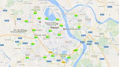 Theo dõi tình trạng ô nhiễm không khí ở Hà Nội như thế nào - ảnh 1