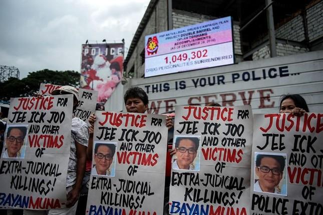 Tổng thống Philippines giải tán lực lượng chống ma túy - ảnh 1