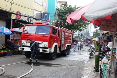 24 căn nhà bị cháy ở Sài Gòn dịp Tết - ảnh 1