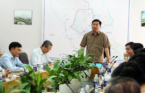 Ông Đinh La Thăng: 'Dự án chống ngập 10.000 tỷ phải hoàn thành sớm 14 tháng' - ảnh 2