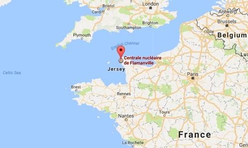 Nổ tại nhà máy điện hạt nhân Pháp - ảnh 1