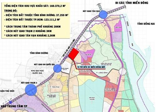 TP HCM xây bến xe Miền Đông mới - ảnh 1