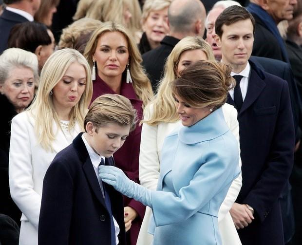 Bà Trump chưa thực sự tiếp quản vai trò đệ nhất phu nhân? - ảnh 2